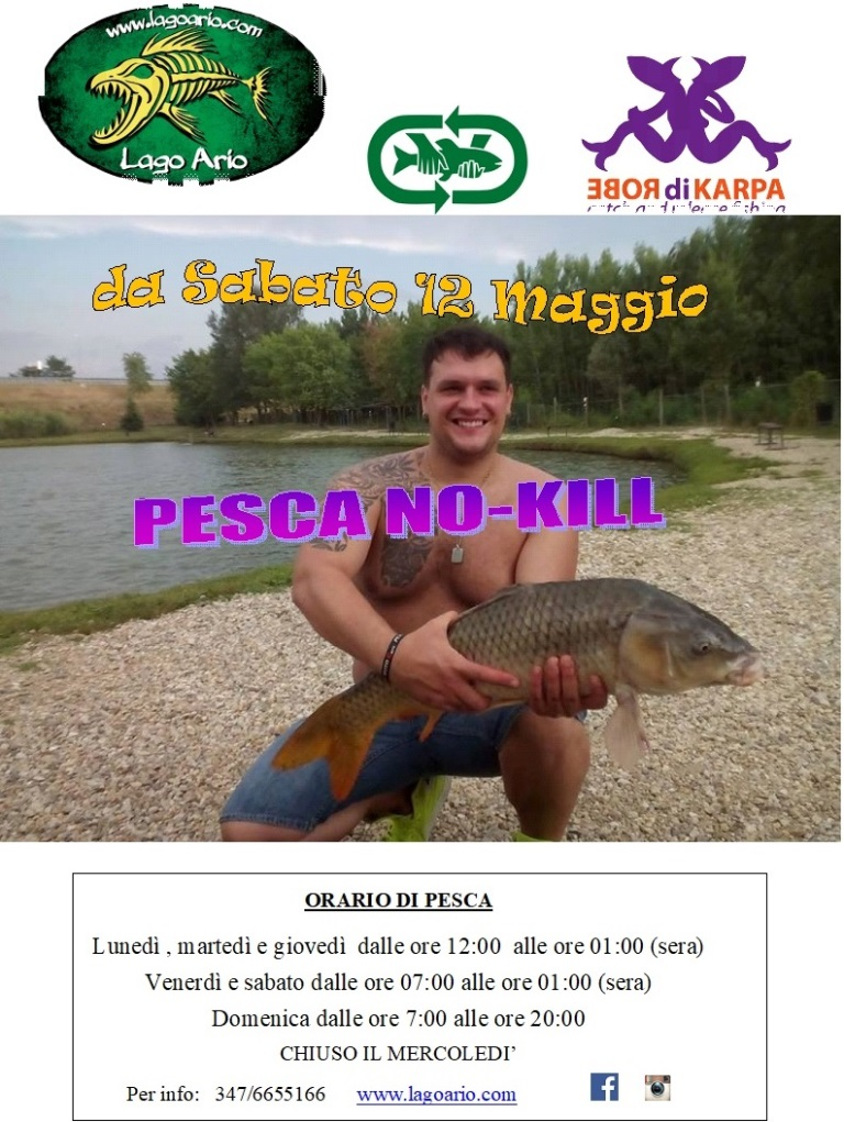 APERTURA PESCA NO-KILL