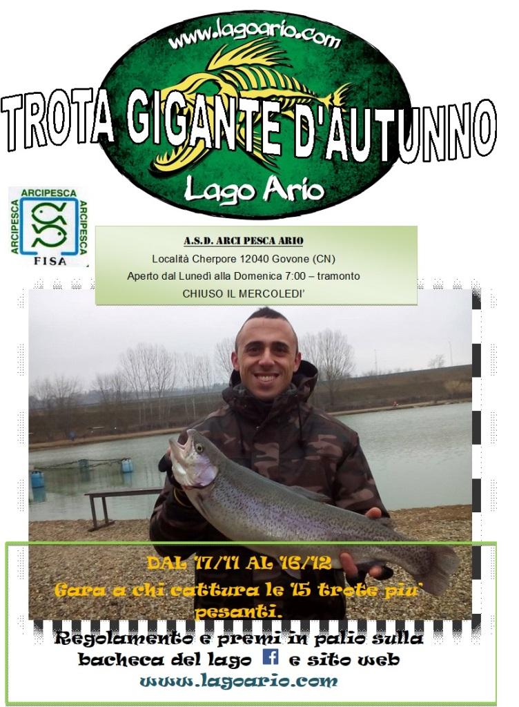 TROTA GIGANTE D'AUTUNNO 2018
