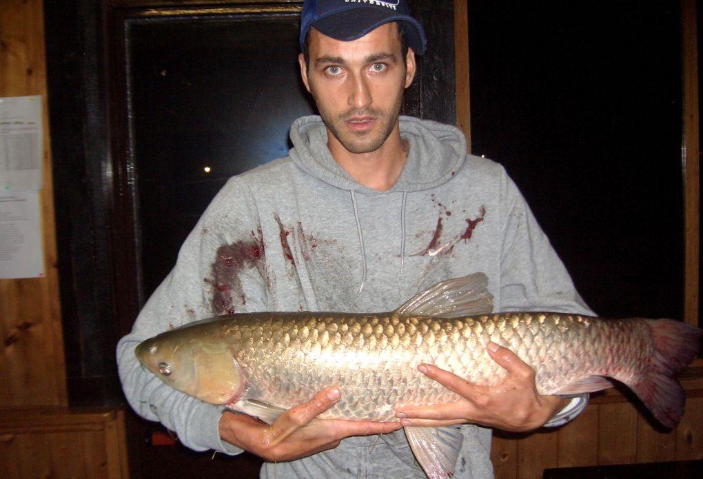 Ciprian con Amur (subito rilasciata) 25-09-2012
