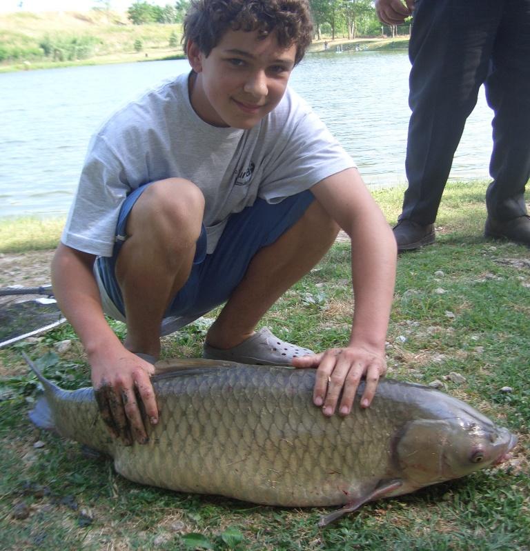 10 kg di Amur per Simone, pescata...rilasciata