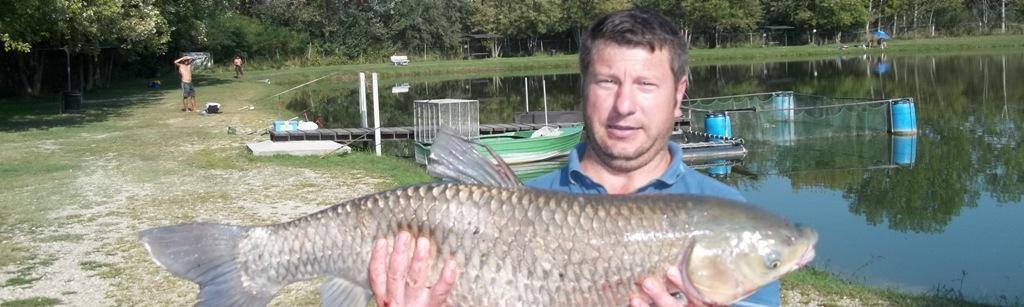 ERBIVORA pescata e rilasciata